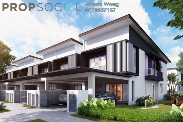 For Sale Terrace at Kiara Court, Nilai Impian Freehold Semi Furnished 4R/4B 518k
