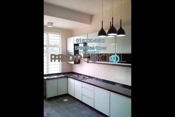 For Rent Terrace at Taman Megah, Kepong Freehold Semi Furnished 6R/4B 2k