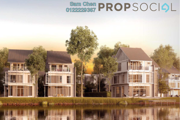 For Sale Terrace at Senja, Seri Kembangan Freehold Fully Furnished 5R/5B 1.38m