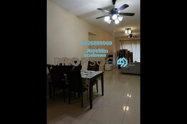 For Rent Condominium at Casa Idaman, Jalan Ipoh Leasehold Fully Furnished 3R/2B 1.8k