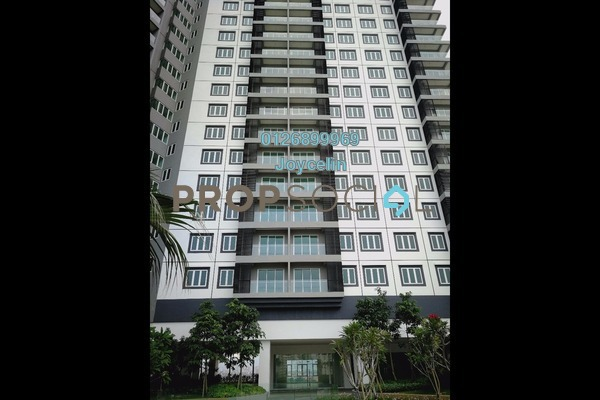 For Sale Condominium at Mercury Serviced Apartment @ Sentul Village, Sentul Freehold Unfurnished 3R/2B 580k