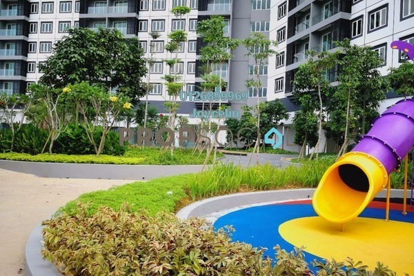 For Rent Condominium at Mercury Serviced Apartment @ Sentul Village, Sentul Freehold Semi Furnished 3R/2B 1.6k