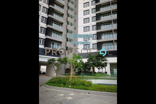 For Rent Condominium at Mercury Serviced Apartment @ Sentul Village, Sentul Freehold Fully Furnished 3R/2B 2.1k