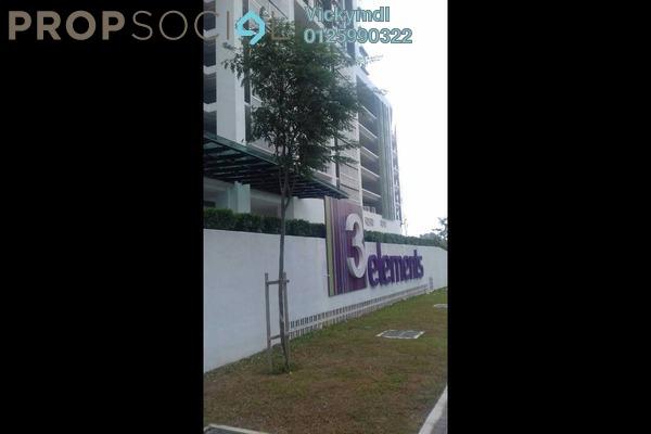 For Rent Condominium at 3 Elements, Bandar Putra Permai Freehold Semi Furnished 3R/2B 1.2k