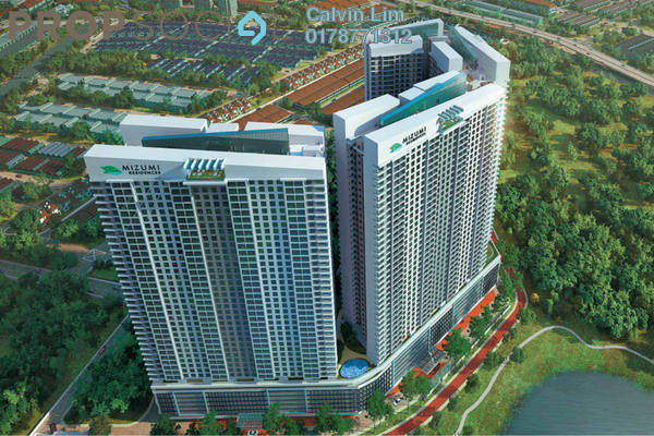 For Sale Condominium at Fortune Perdana Lakeside, Kepong Freehold Unfurnished 3R/2B 390k