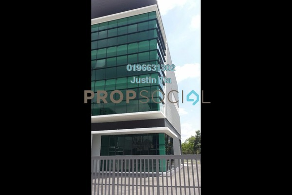 For Rent Factory at Prime @ Axis Industrial Park, Kota Kemuning Freehold Semi Furnished 0R/0B 25k