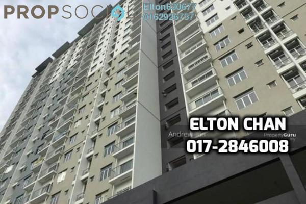For Sale Apartment at Prima Saujana, Kajang Freehold Semi Furnished 3R/2B 315k