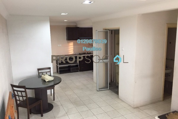 For Sale Apartment at Vistaria, Puchong Freehold Semi Furnished 3R/2B 230k