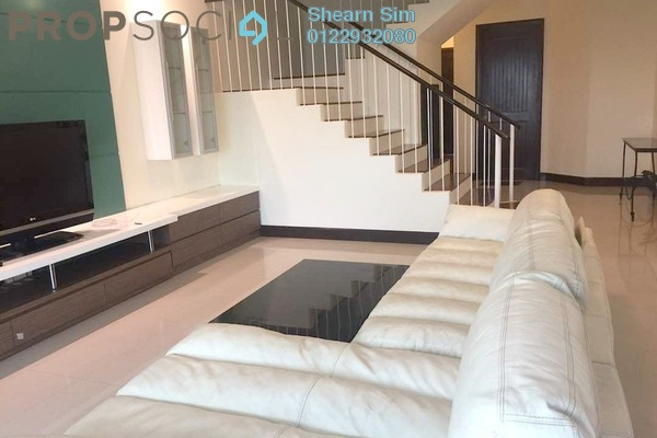 For Rent Duplex at Flora Murni, Mont Kiara Freehold Fully Furnished 4R/5B 6.9k