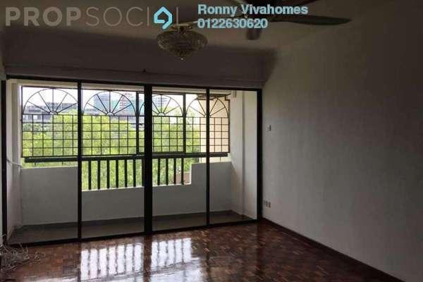 For Rent Apartment at Anjung Hijau, Bukit Jalil Freehold Semi Furnished 3R/2B 2.5k