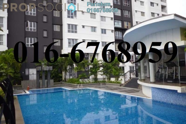 For Rent Serviced Residence at Axis SoHu, Pandan Indah Freehold Fully Furnished 1R/1B 1.5k