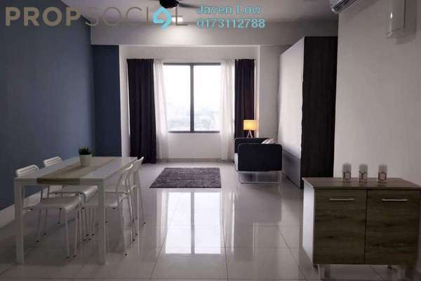 For Sale Condominium at Dynasty Garden, Kuchai Lama Freehold Semi Furnished 3R/2B 520k
