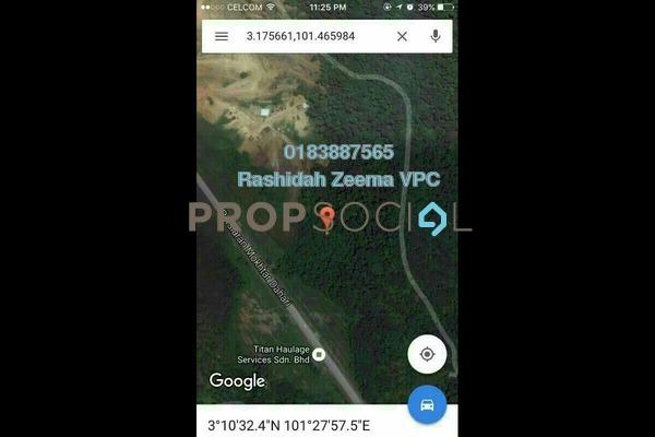 For Sale Land at Kampung Bukit Cherakah Jaya, Shah Alam Freehold Unfurnished 0R/0B 12m