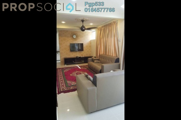 For Rent Apartment at Mutiara Perdana 1, Sungai Ara Freehold Unfurnished 3R/2B 1.2k