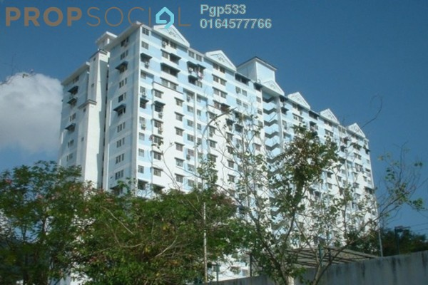 For Rent Serviced Residence at Taman Utama, Ipoh Freehold Unfurnished 2R/2B 650translationmissing:en.pricing.unit