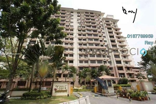 For Rent Condominium at Bayu Tasik 1, Bandar Sri Permaisuri Freehold Semi Furnished 3R/2B 1.4k