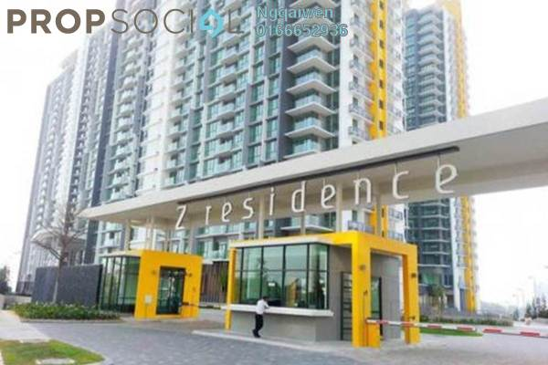 For Sale Condominium at The Z Residence, Bukit Jalil Freehold Semi Furnished 2R/2B 618k