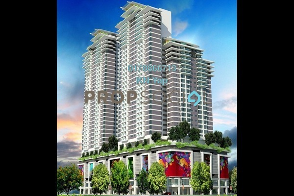 For Sale Serviced Residence at Maxim Residences, Cheras Leasehold Unfurnished 2R/2B 470k