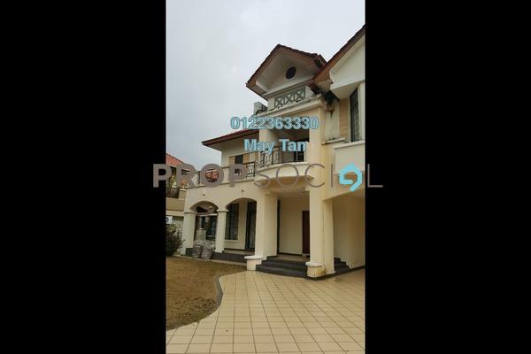 For Sale Bungalow at Oncidium Heights, Kota Kemuning Freehold Semi Furnished 6R/5B 3.1m