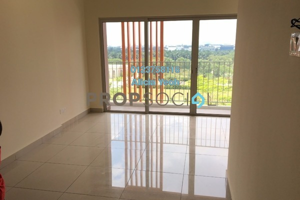 For Rent Serviced Residence at Suria Jelutong, Bukit Jelutong Freehold Semi Furnished 1R/1B 1.2k