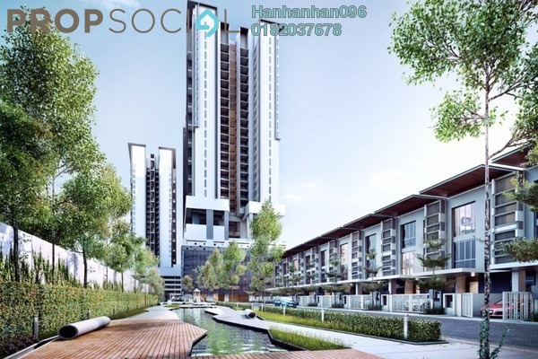 For Sale Condominium at The Andes, Bukit Jalil Freehold Semi Furnished 3R/2B 588k