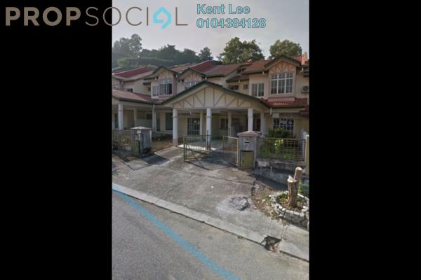 For Rent Terrace at Sunway Kayangan, Shah Alam Freehold Semi Furnished 4R/3B 1.1k