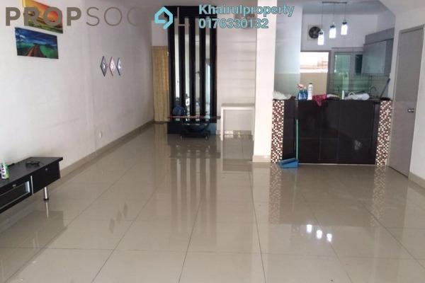 For Rent Terrace at Garden Homes, Bandar Baru Bangi Freehold Semi Furnished 4R/3B 1.8k