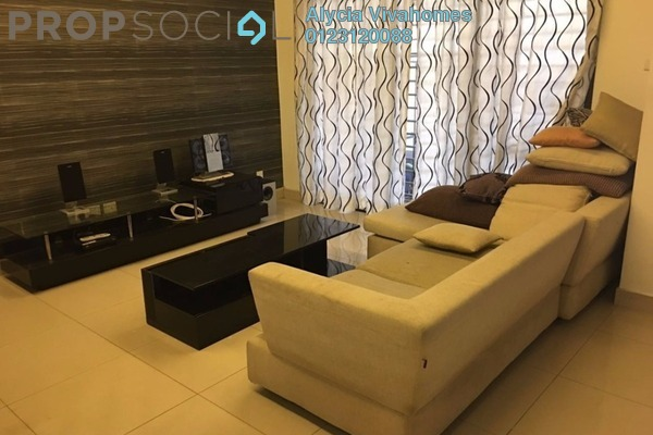 For Rent Terrace at Lakeside Residences, Puchong Freehold Semi Furnished 4R/4B 2.1k