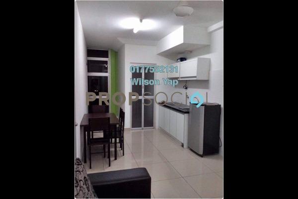 For Rent Condominium at The Domain, Cyberjaya Freehold Semi Furnished 2R/1B 1.2k
