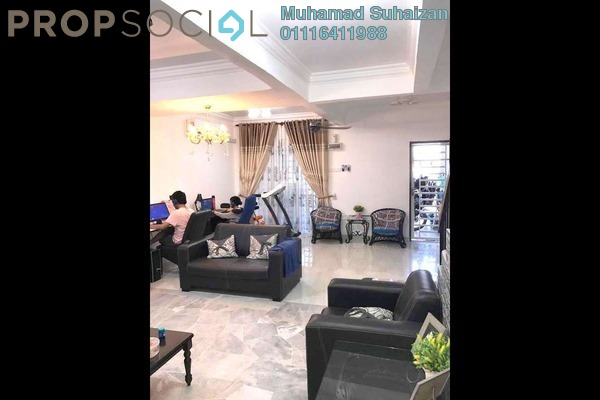 For Sale Terrace at Taman Cheras Jaya, Balakong Freehold Fully Furnished 3R/2B 420k