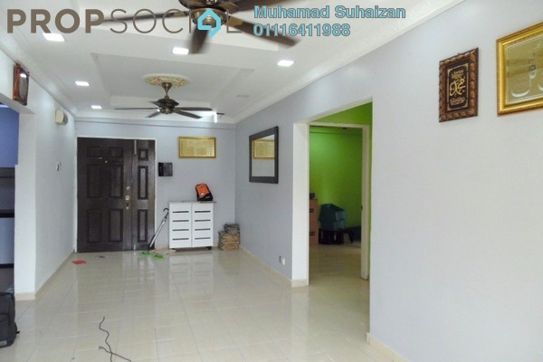 For Sale Apartment at Laguna Biru, Rawang Freehold Fully Furnished 3R/2B 230k