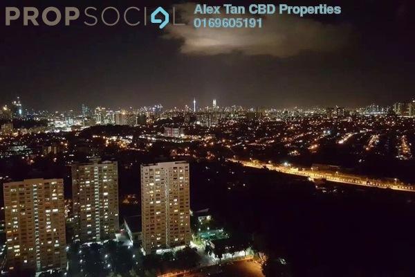 For Sale Condominium at Vista Komanwel, Bukit Jalil Freehold Semi Furnished 3R/2B 660k