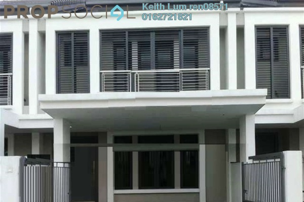 For Sale Terrace at Aquina, Alam Impian Leasehold Unfurnished 5R/5B 858k