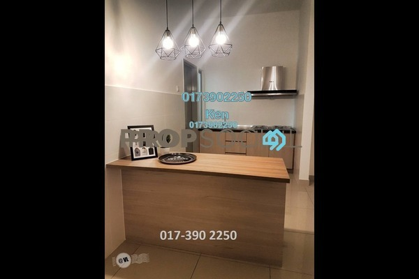 For Rent Condominium at DeSkye Residence, Jalan Ipoh Freehold Fully Furnished 3R/2B 2.3k