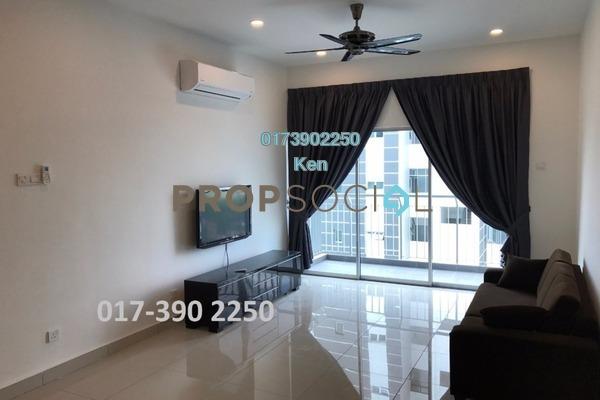 For Rent Terrace at DeSkye Residence, Jalan Ipoh Freehold Fully Furnished 3R/2B 2k