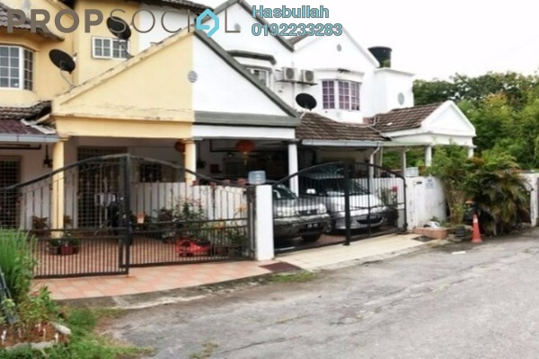 For Sale Terrace at SD12, Bandar Sri Damansara Freehold Semi Furnished 3R/2B 950k