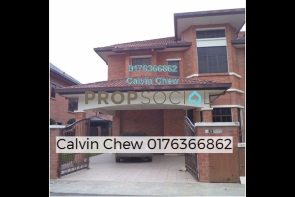 For Sale Semi-Detached at Admiral Park, Bandar Sungai Long Freehold Unfurnished 5R/3B 1m