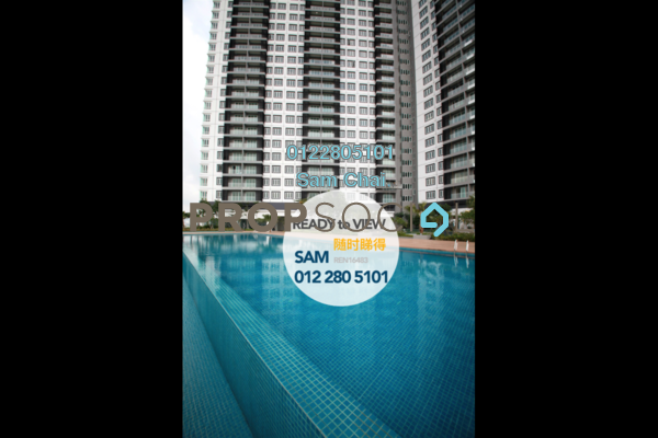 For Rent Serviced Residence at Mercury Serviced Apartment @ Sentul Village, Sentul Freehold Semi Furnished 3R/2B 1.65k