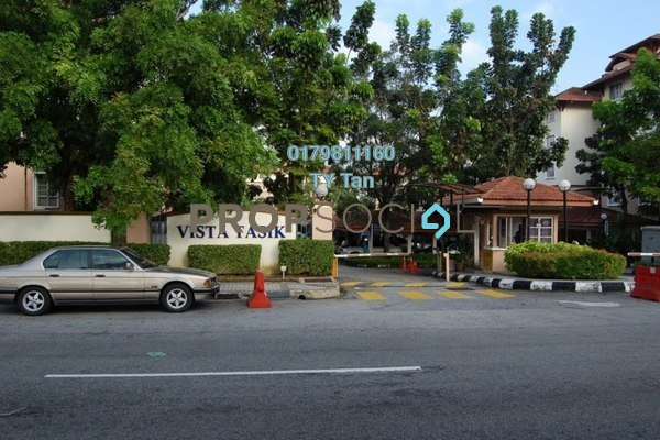 For Rent Condominium at Vista Tasik, Bandar Sri Permaisuri Freehold Semi Furnished 3R/2B 1.65k