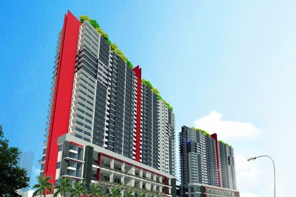 For Sale Condominium at The Zizz, Damansara Damai Leasehold Unfurnished 3R/2B 340k