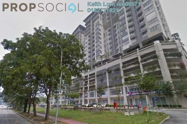 For Sale Condominium at I Residence, Kota Damansara Freehold Semi Furnished 3R/2B 655k