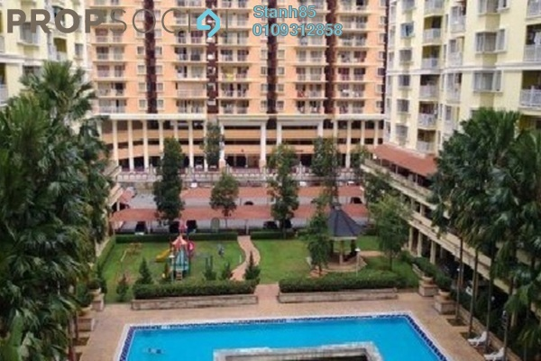 For Rent Condominium at Platinum Hill PV3, Setapak Freehold Semi Furnished 4R/2B 1.5k