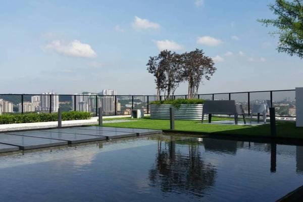 For Rent Condominium at Flexus Signature Suites, Segambut Freehold Fully Furnished 1R/1B 1.6k