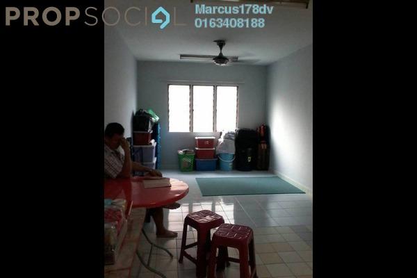 For Sale Condominium at Desa Sri Puteri Apartments, Desa Petaling Freehold Semi Furnished 2R/1B 180k