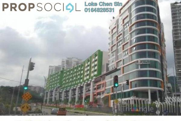 For Rent Condominium at Setia Tri-Angle, Sungai Ara Freehold Semi Furnished 3R/2B 1.9k