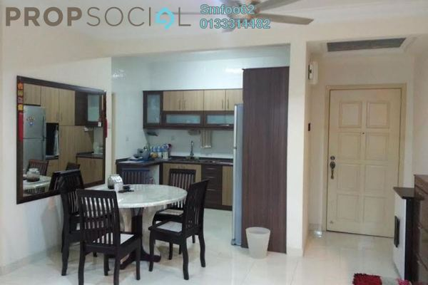 For Rent Condominium at Platinum Hill PV6, Setapak Freehold Semi Furnished 4R/2B 2k