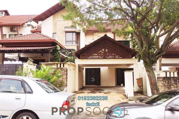 For Sale Terrace at Section 13, Shah Alam Leasehold Semi Furnished 4R/4B 850k