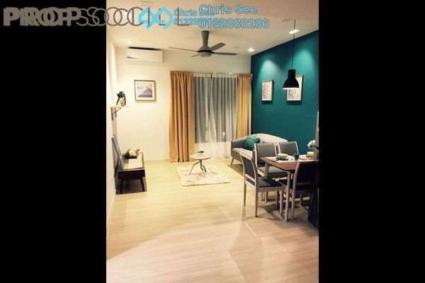 For Rent Condominium at You One, UEP Subang Jaya Freehold Fully Furnished 2R/2B 2.2k