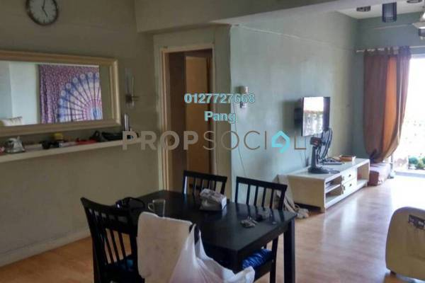 For Sale Apartment at Sri Cempaka Apartment, Kajang Freehold Semi Furnished 3R/2B 239k