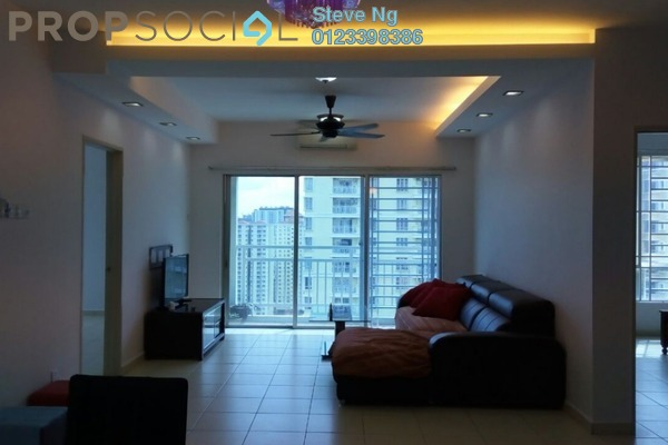 For Rent Condominium at Platinum Lake PV12, Setapak Freehold Fully Furnished 4R/2B 1.9k